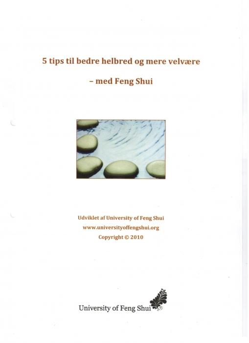 Image of   5 tips til bedre helbred og mere velvære - med Feng Shui (E-bog)