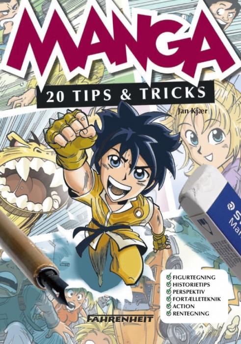 Manga - 20 tips & tricks (e-bog) fra jan kjær fra bogreolen.dk
