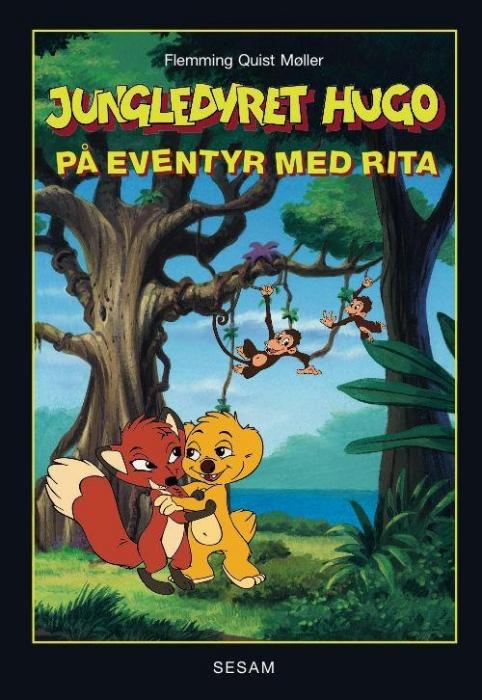 flemming quist møller Jungledyret hugo -  på eventyr med rita (lydbog) fra bogreolen.dk