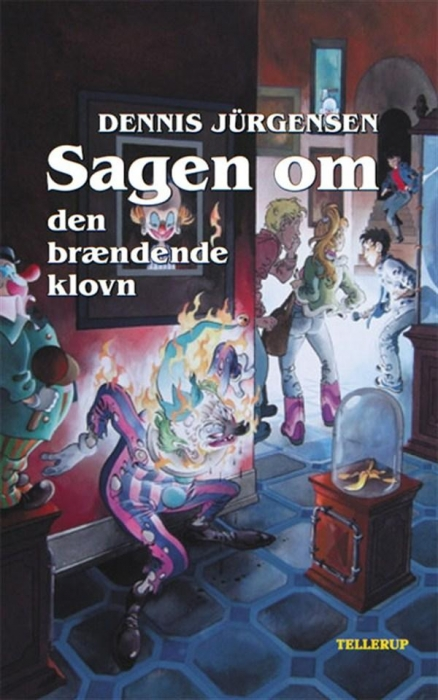 Spøgelseslinien #5: sagen om den brændende klovn (lydbog) fra dennis jürgensen fra bogreolen.dk