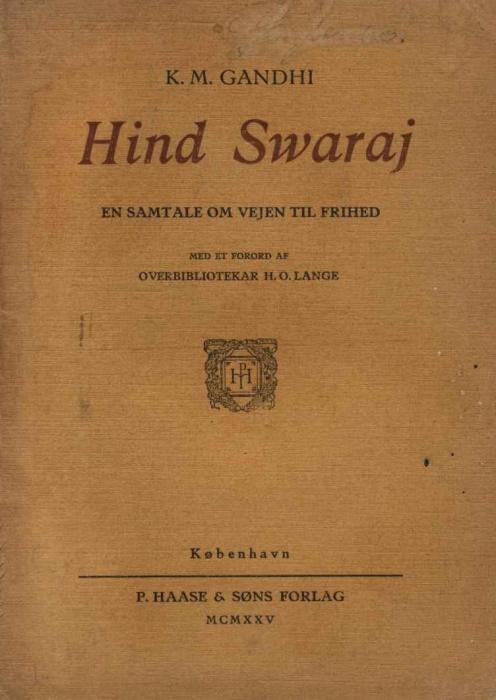 mahatmar gandhi – Hind swaraj (e-bog) fra bogreolen.dk