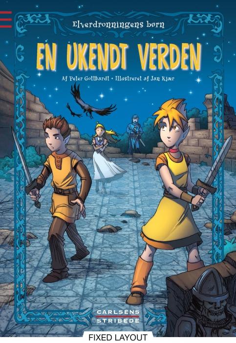 peter gotthardt Elverdronningens børn 1: en ukendt verden (e-bog) fra bogreolen.dk