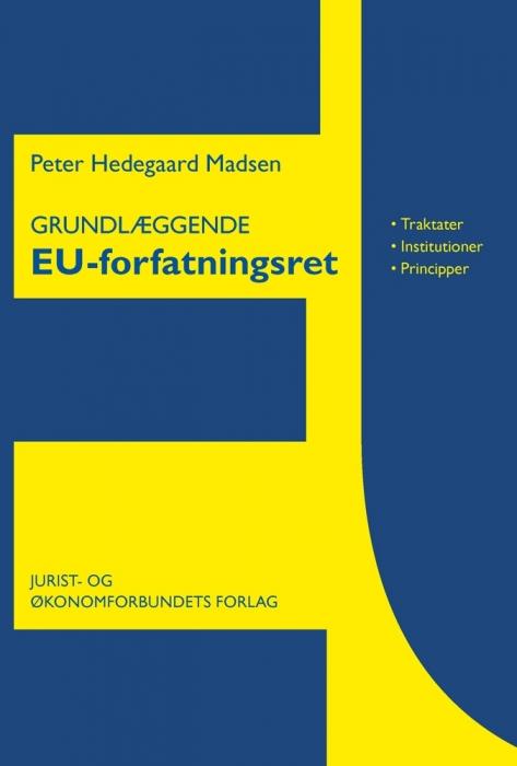 Image of   Grundlæggende EU-forfatningsret (E-bog)