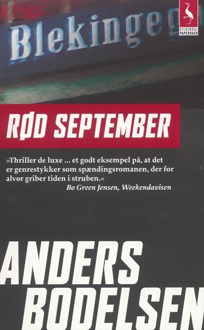 Image of Rød September (Lydbog)