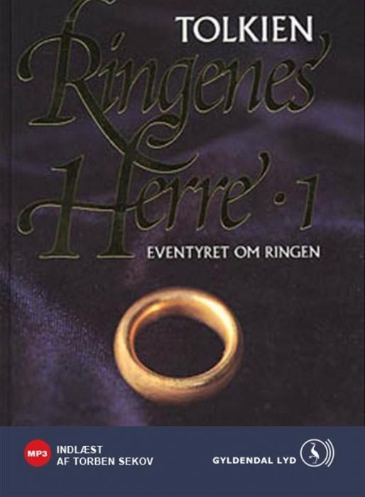 j.r.r. tolkien – Ringenes herre i: eventyret om ringen (lydbog) fra bogreolen.dk