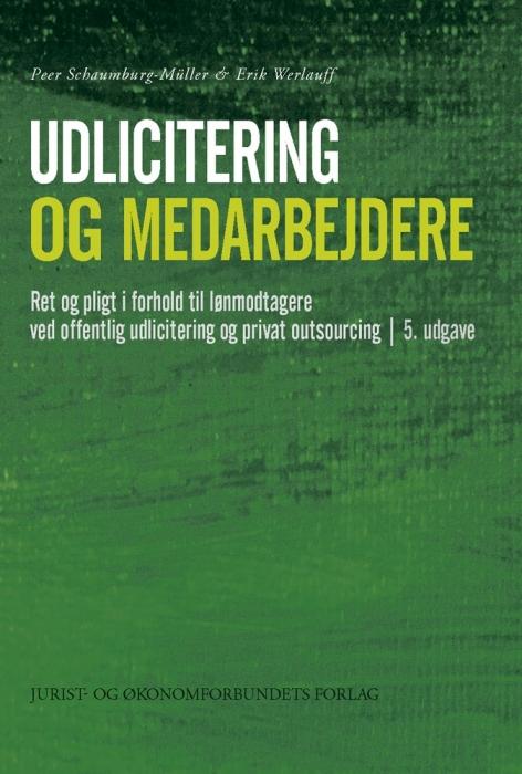 erik werlauff Udlicitering og medarbejdere (e-bog) fra bogreolen.dk