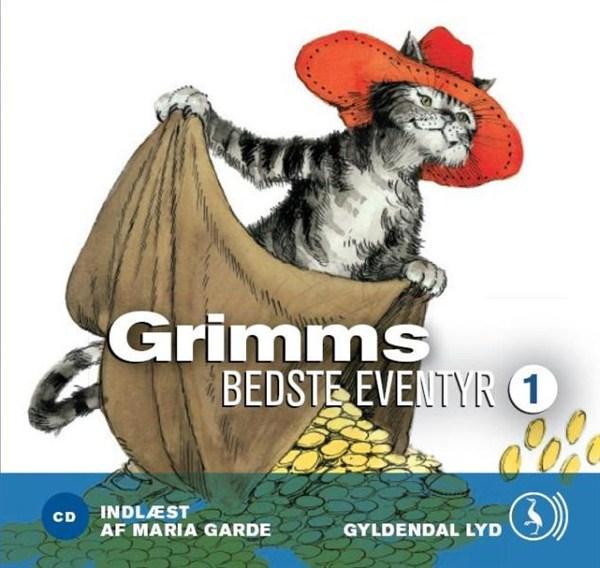 Grimms bedste eventyr 1 (lydbog) fra brødrene grimm brødrene grimm på bogreolen.dk