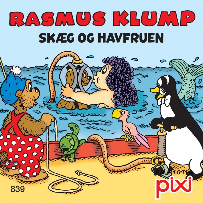 carla og vilh. hansen Rasmus klump 3 - skæg og havfruen og rasmus klump holder høns (lydbog) fra bogreolen.dk