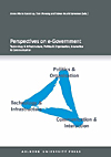 Image of Perspectives on e-Government (E-bog)