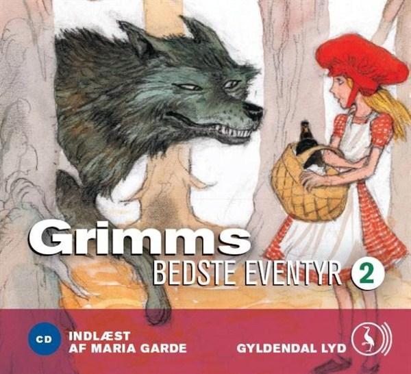 Grimms bedste eventyr 2 (lydbog) fra brødrene grimm brødrene grimm på bogreolen.dk