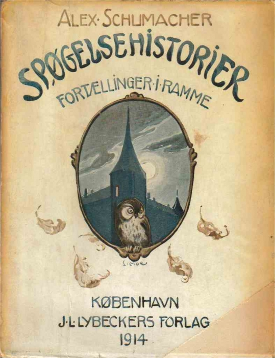 alex schumacher – Spøgelseshistorier (e-bog) fra bogreolen.dk