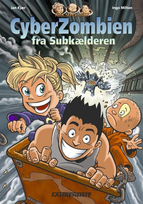Cyberzombien fra subkælderen (e-bog) fra jan kjær på bogreolen.dk