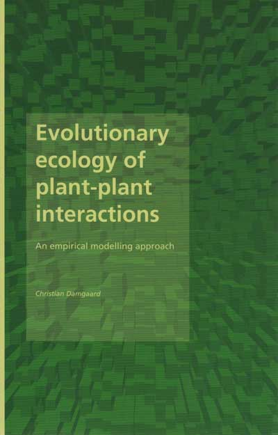 Evolutionary ecology of plant-plant interactions (E-bog)