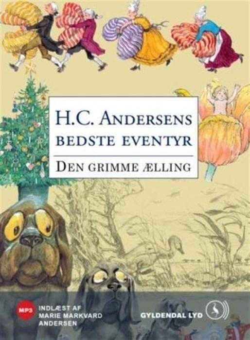 Den grimme ælling (lydbog) fra h.c. andersen fra bogreolen.dk