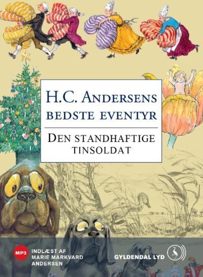 h.c. andersen Den standhaftige tinsoldat (lydbog) på bogreolen.dk