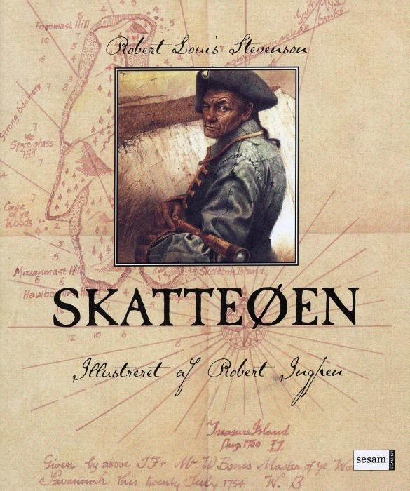robert stevenson – Skatteøen (lydbog) fra bogreolen.dk