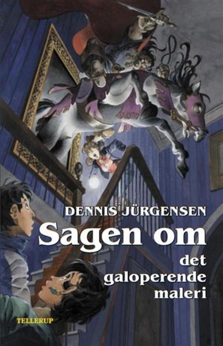 dennis jürgensen Spøgelseslinien #4: sagen om det galoperende maleri (lydbog) på bogreolen.dk
