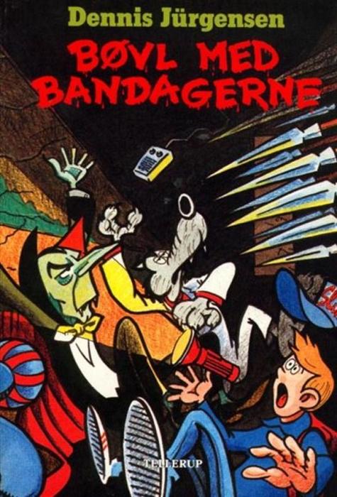 dennis jürgensen Bøvl med bandagerne (lydbog) fra bogreolen.dk