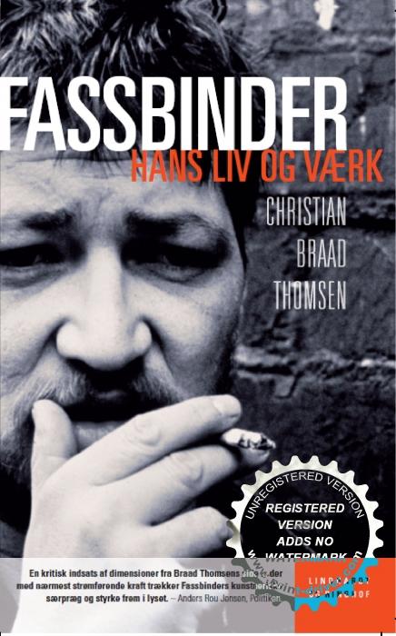 christian braad thomsen Rainer werner fassbinder (e-bog) på tales.dk