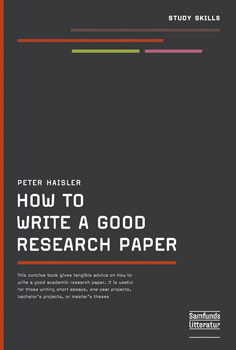 Image of   How to write a good research paper (E-bog)