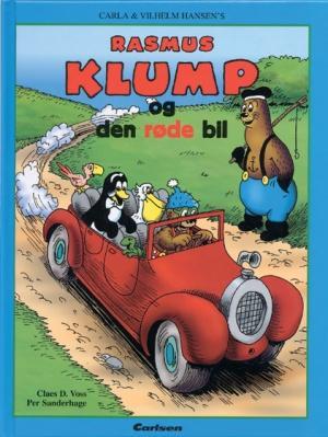 vilh. hansen – Rasmus klump og den røde bil (lydbog) på bogreolen.dk