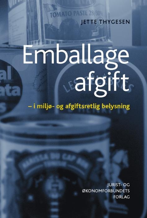 Image of   Emballageafgift (E-bog)