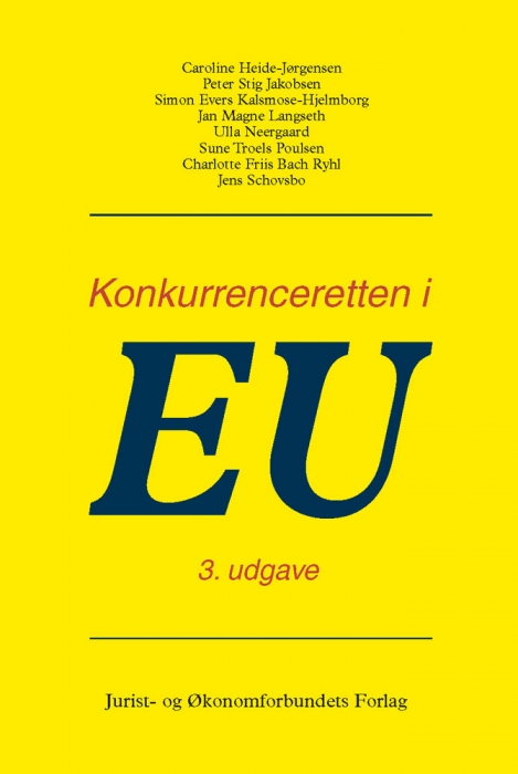 jens schovsbo Konkurrenceretten i eu (e-bog) fra bogreolen.dk