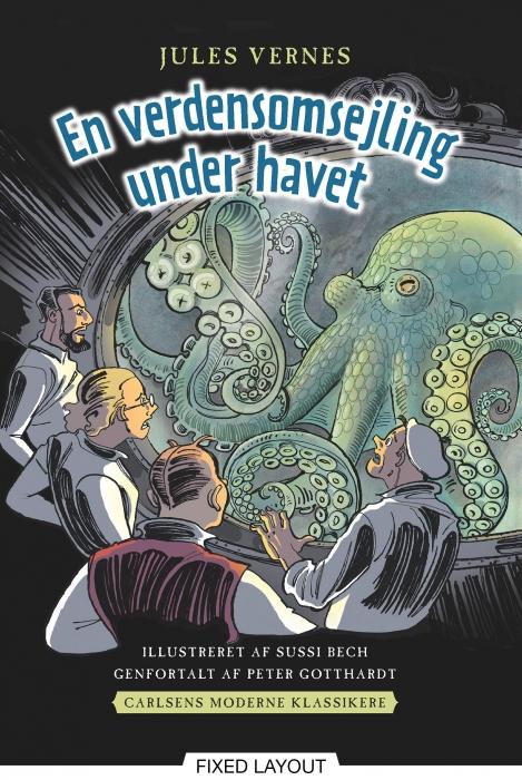 peter gotthardt Carlsens moderne klassikere 2: jules vernes en verdensomsejling under havet (e-bog) på bogreolen.dk