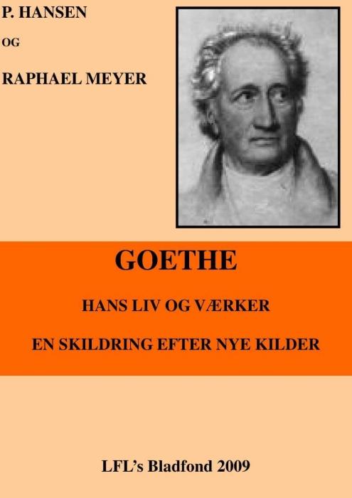 p. hansen – Goethe, hans liv og værker (e-bog) på tales.dk
