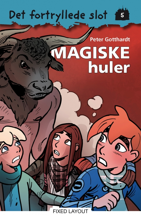 Det fortryllede slot 5: magiske huler (e-bog) fra peter gotthardt fra tales.dk