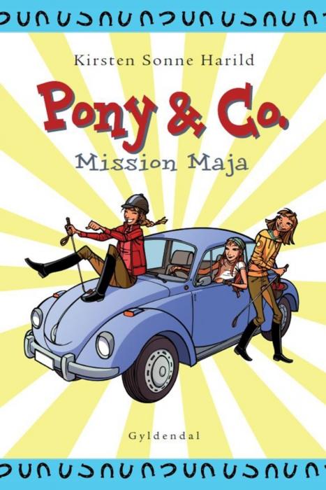 kirsten sonne harild Pony & co. 2 - mission maja (e-bog) fra bogreolen.dk