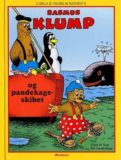 vilh. hansen – Rasmus klump og pandekageskibet (lydbog) på bogreolen.dk