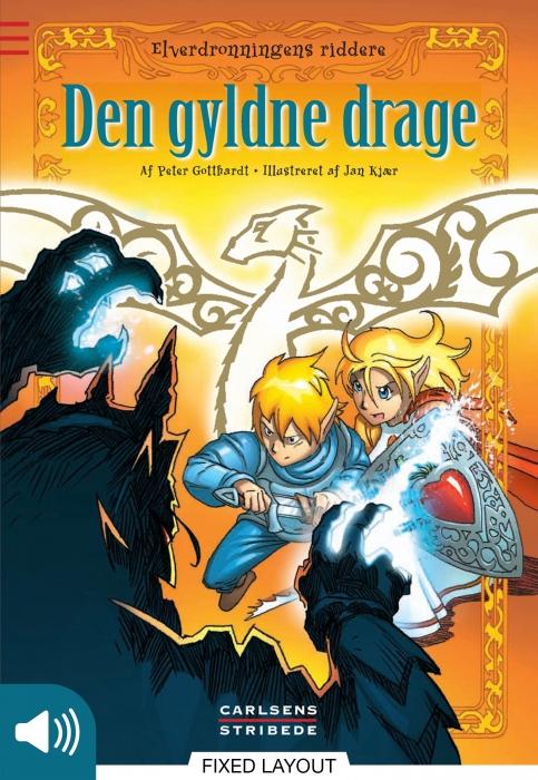 peter gotthardt Elverdronningens riddere 8: den gyldne drage (e-bog) på bogreolen.dk