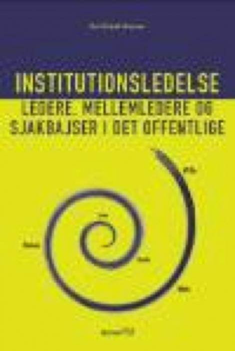 kurt klaudi klausen Institutionsledelse (e-bog) på bogreolen.dk