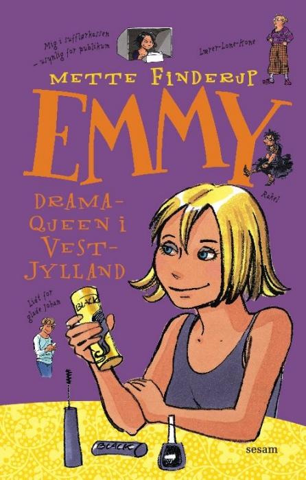 mette finderup – Emmy 4 - dramaqueen i vestjylland (e-bog) fra tales.dk