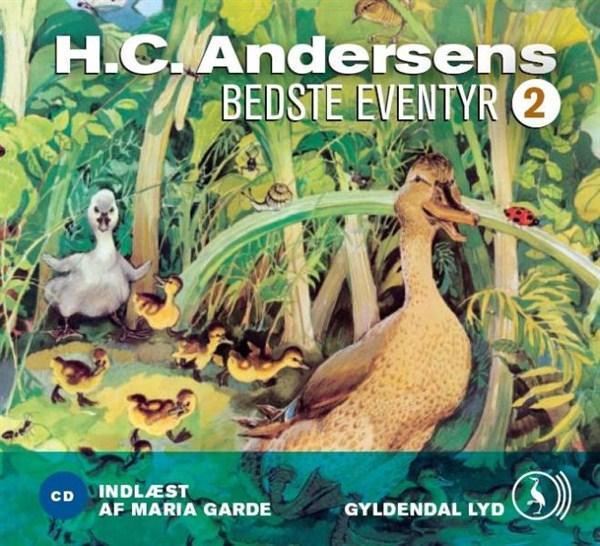 h.c. andersen H.c. andersens bedste eventyr 2 (lydbog) fra bogreolen.dk