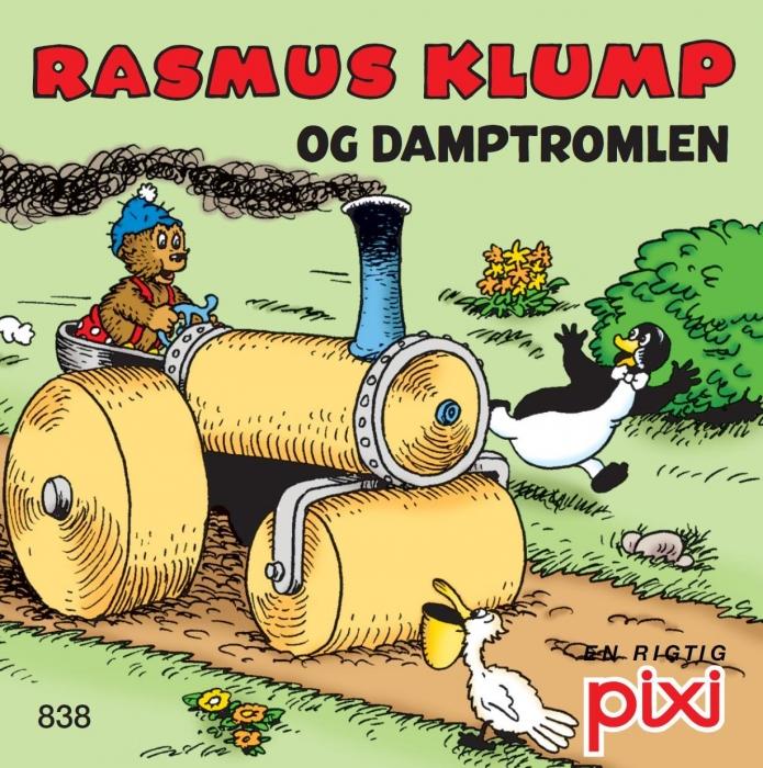 Rasmus klump 4 - damptromlen og rasmus klump hjælper pips (lydbog) fra carla og vilh. hansen på bogreolen.dk