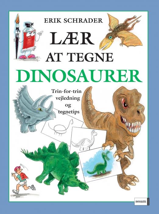 erik schrader – Lær at tegne dinosaurer (e-bog) på bogreolen.dk