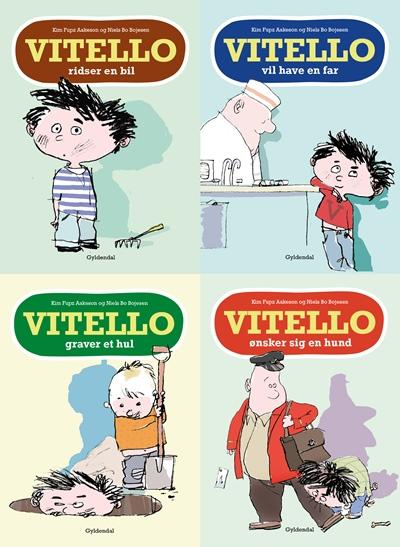 kim fupz aakeson Fire historier om drengen vitello (lydbog) fra bogreolen.dk