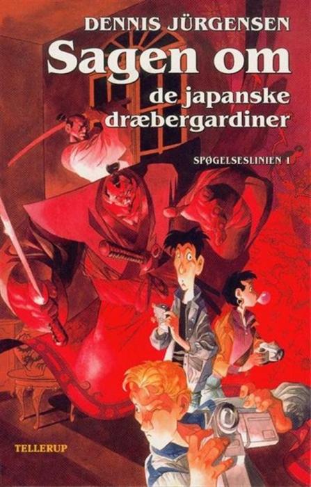 Spøgelseslinien #1: sagen om de japanske dræbergardiner (lydbog) fra dennis jürgensen fra bogreolen.dk
