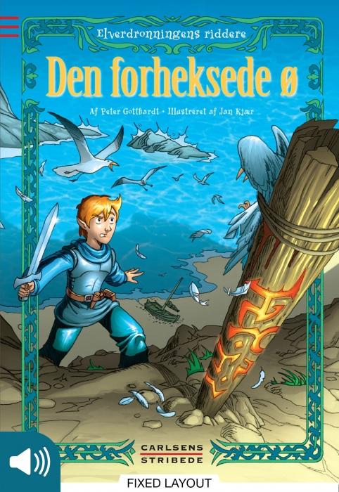 Elverdronningens riddere 2: Den forheksede ø (E-bog)