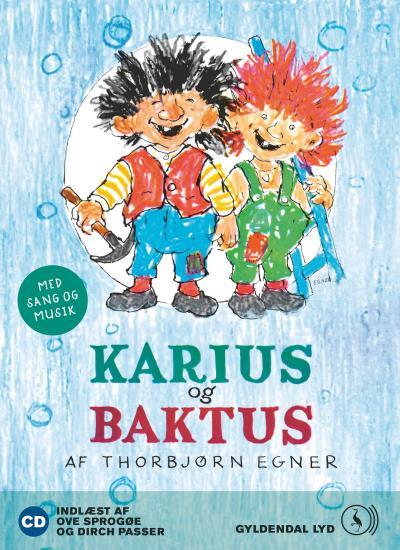 thorbjørn egner Karius og baktus (lydbog) på bogreolen.dk