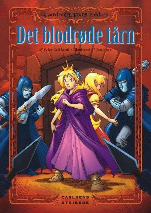 Elverdronningens riddere 7: det blodrøde tårn (lydbog) fra peter gotthardt på bogreolen.dk