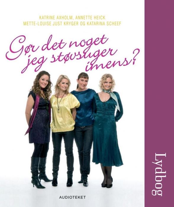 Gør det noget jeg støvsuger imens? (lydbog) fra katarina scheff på bogreolen.dk