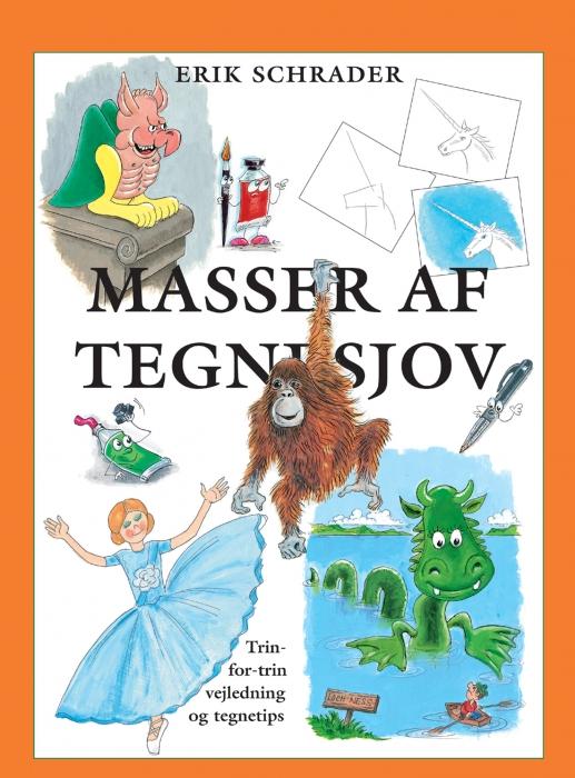 Masser af tegnesjov (e-bog) fra erik schrader fra bogreolen.dk