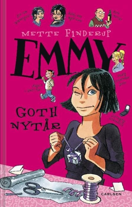 Emmy 5 - goth nytår (e-bog) fra mette finderup fra bogreolen.dk