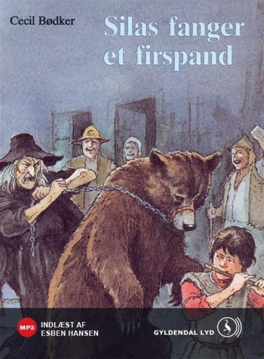 Silas fanger et firspand (lydbog) fra cecil bødker fra bogreolen.dk