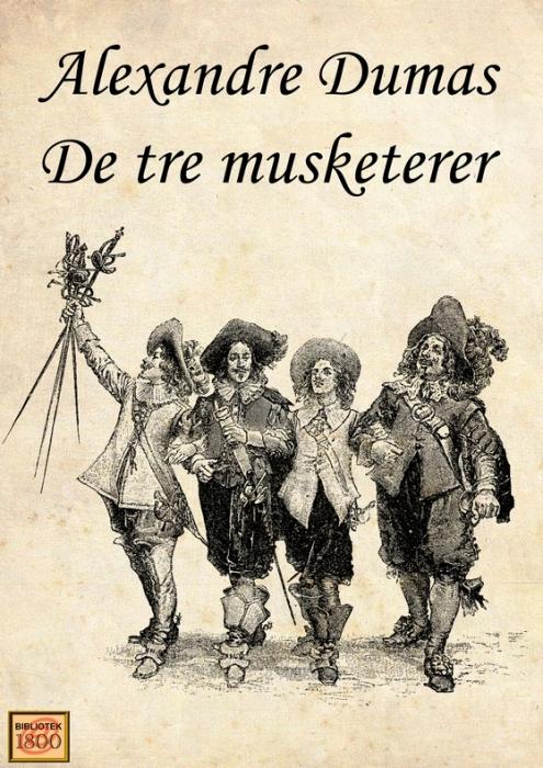 Image of De tre musketerer (E-bog)