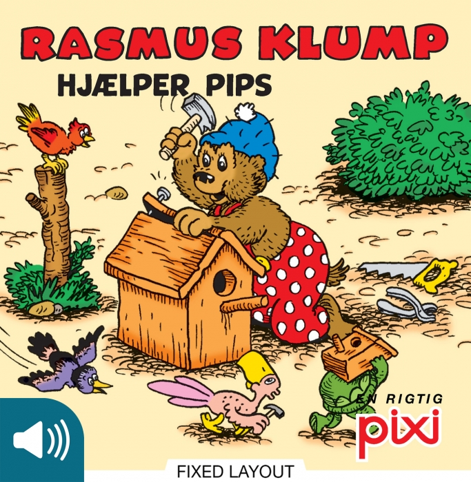 per sanderhage Rasmus klump hjælper pips (e-bog) fra bogreolen.dk
