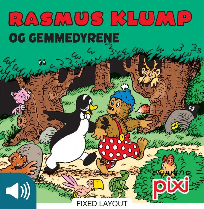 per sanderhage – Rasmus klump og gemmedyrene (e-bog) fra tales.dk